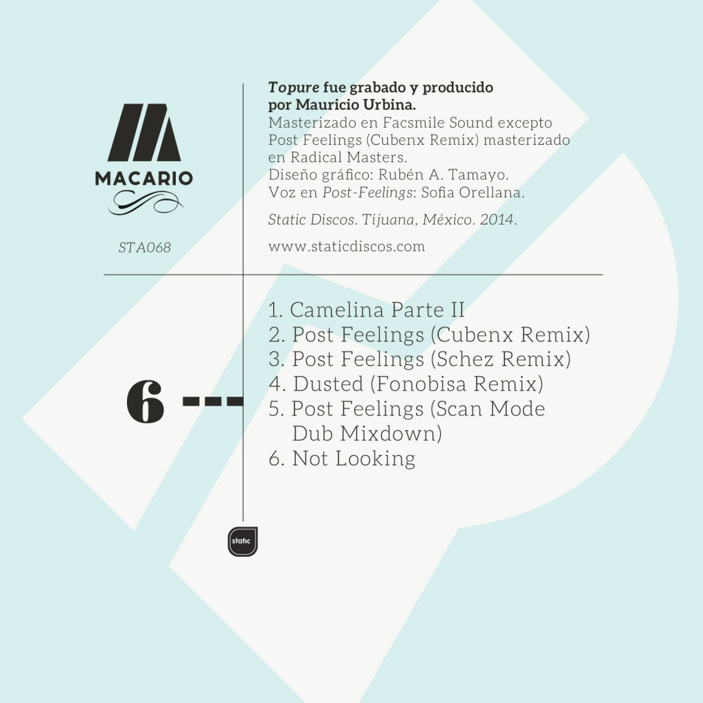 Macario-Remixes-Back cover