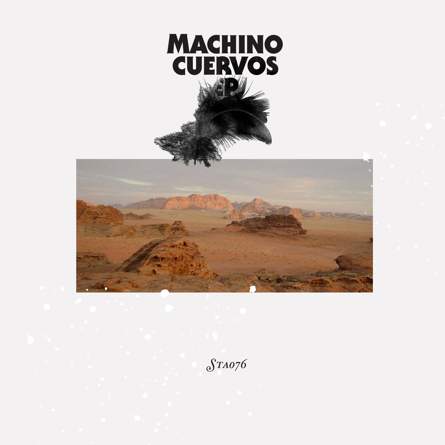 Machino_Cuervos EP-Cover