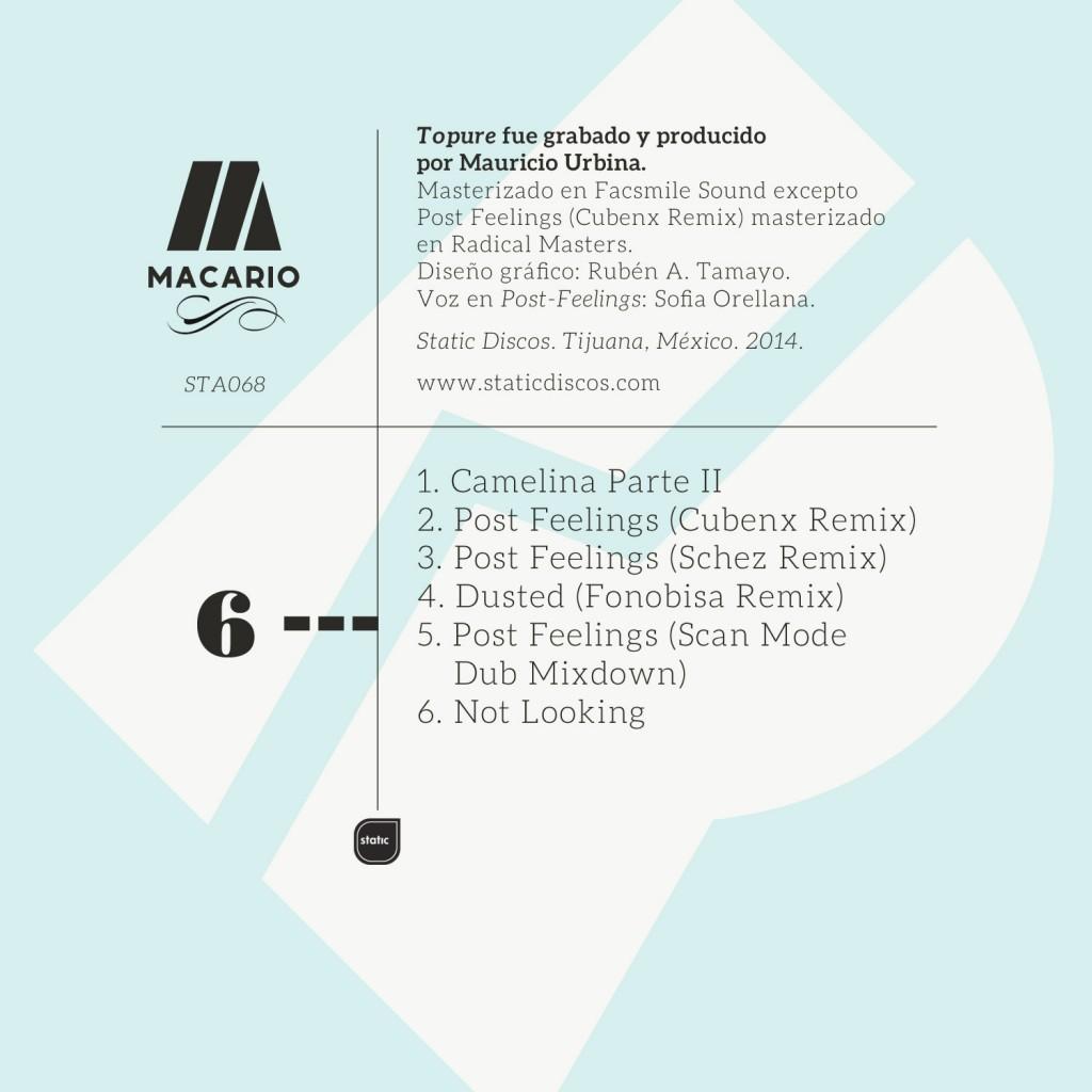 Macario-Remixes-Back cover